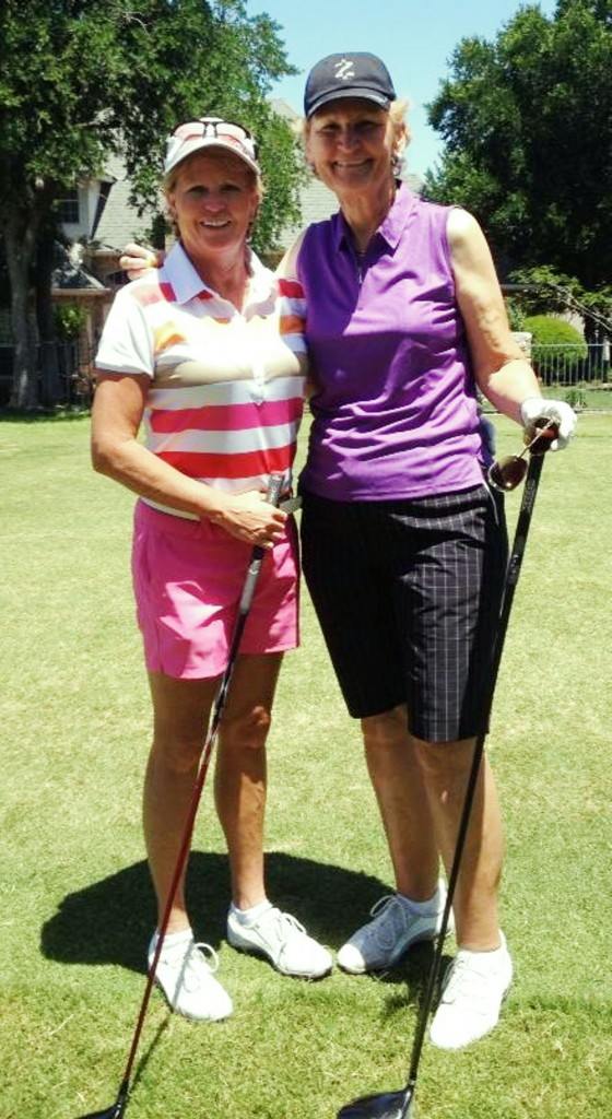 Golf Clinic with Tanya Magnus and Pat Walters